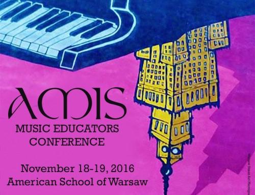 AV Teachers Take Part in the AMIS Music Educators' Conference